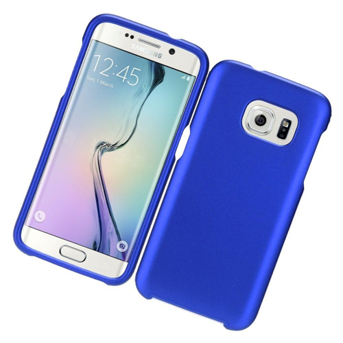 Insten Rubber Case For Samsung Galaxy S7, Blue