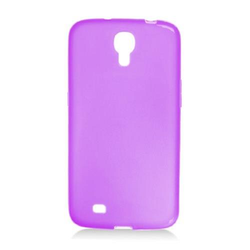 "Insten Frosted TPU Case For Samsung Galaxy Mega 6.3"" GT-I9200, Purple"