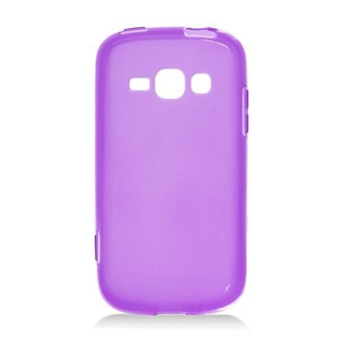 Insten Frosted Rubber Case For Samsung Galaxy Prevail 2/Ring, Purple