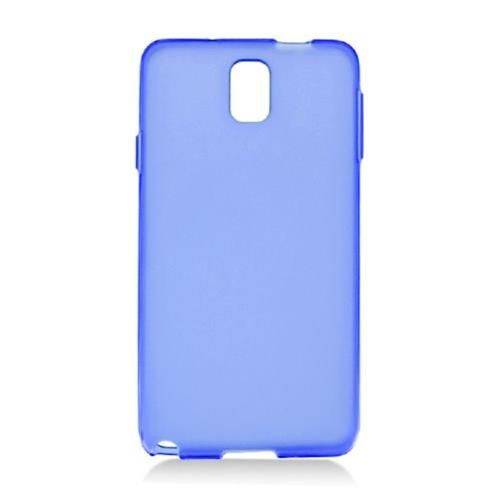 Insten Frosted Rubber Cover Case For Samsung Galaxy Note 3, Blue