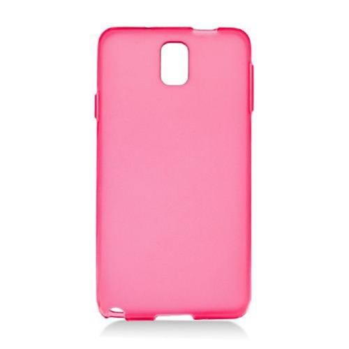 Insten Frosted Rubber Cover Case For Samsung Galaxy Note 3, Red