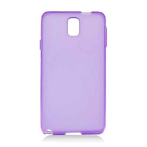 Insten Frosted TPU Cover Case For Samsung Galaxy Note 3, Purple