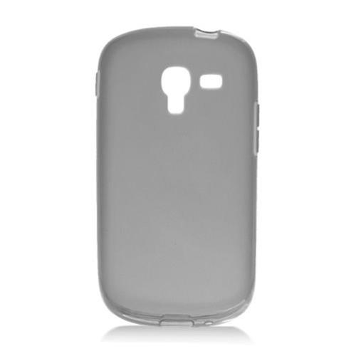 Insten Frosted Rubber Cover Case For Samsung Galaxy Exhibit T599, Smoke