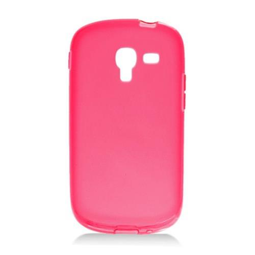 Insten Frosted Gel Cover Case For Samsung Galaxy Exhibit T599, Red