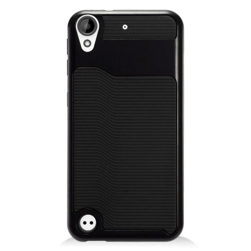 Insten Slim Hard Dual Layer Plastic TPU Case For HTC Desire 530, Black