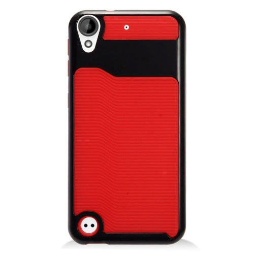 Insten Slim Hard Hybrid Plastic TPU Case For HTC Desire 530, Red/Black