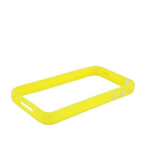 Insten Gel Bumper For Apple iPhone 4/4S, Yellow