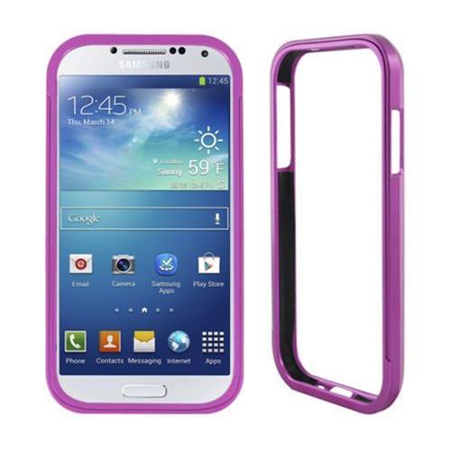Insten Aluminum Metallic Bumper For Samsung Galaxy S4, Purple