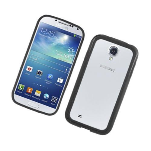 Insten TPU Bumper For Samsung Galaxy S4, Black