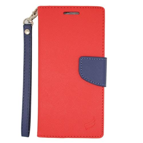 Insten Wallet Case for HTC Desire Eye - Red;Blue