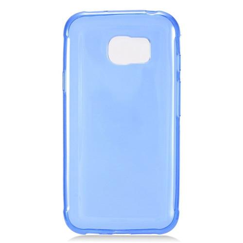 Insten Frosted Rubber Case For Samsung Galaxy S7 Active, Blue
