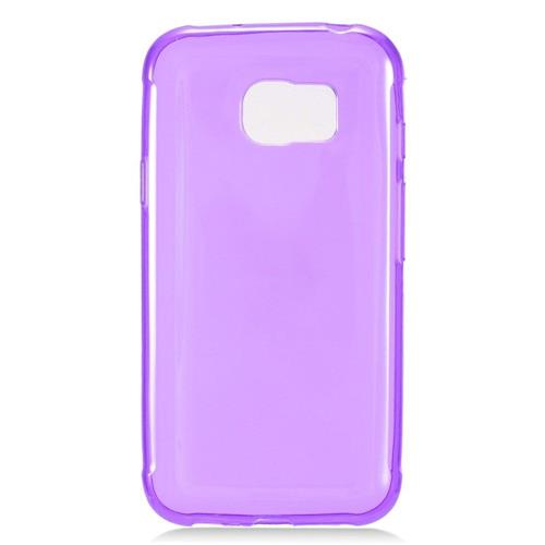 Insten Frosted Rubber Cover Case For Samsung Galaxy S7 Active, Purple