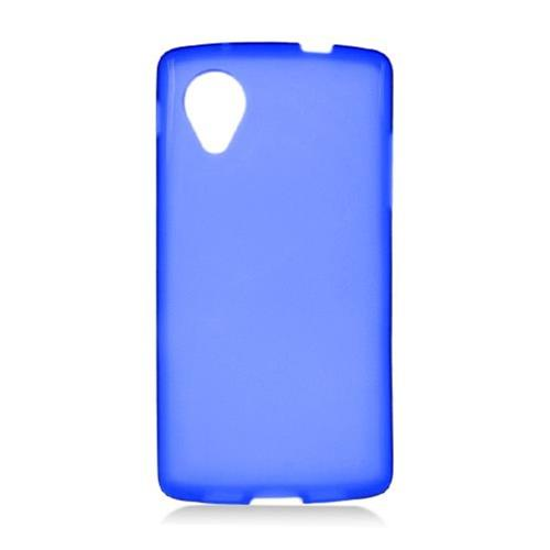 Insten Frosted Gel Case For LG Google Nexus 5 D820, Blue