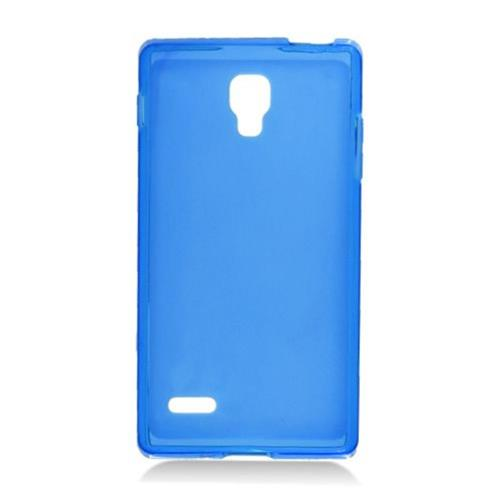 Insten Frosted Rubber Cover Case For LG Optimus L9 P769, Blue