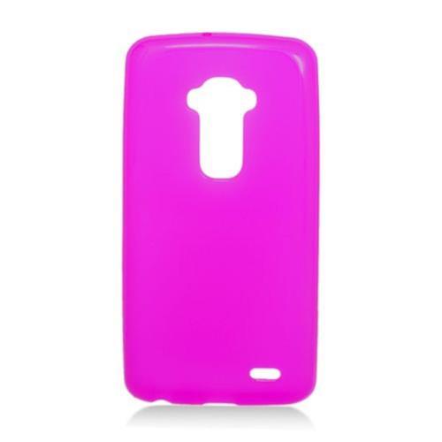 Insten Frosted Gel Case For LG G Flex, Purple