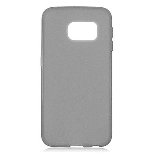 Insten Frosted Gel Cover Case For Samsung Galaxy S6 Edge, Black