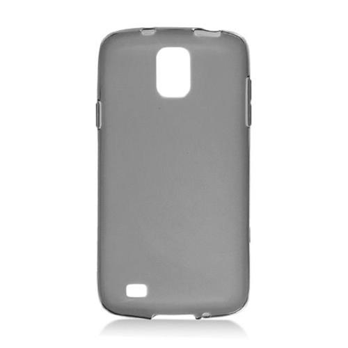Insten Frosted TPU Cover Case For Samsung Galaxy S4 Active, Smoke