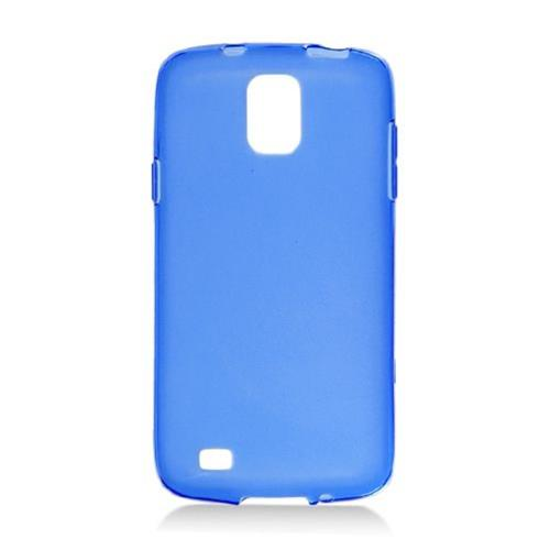 Insten Frosted Gel Case For Samsung Galaxy S4 Active, Blue