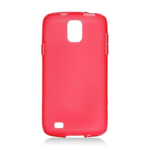 Insten Frosted TPU Cover Case For Samsung Galaxy S4 Active, Red