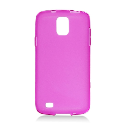 Insten Frosted TPU Cover Case For Samsung Galaxy S4 Active, Hot Pink