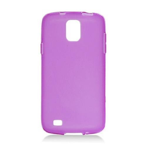 Insten Frosted Rubber Cover Case For Samsung Galaxy S4 Active, Purple