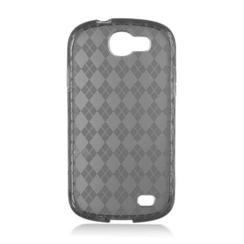 Insten Frosted Gel Case For Samsung Galaxy Express SGH-i437, Smoke