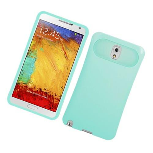 Insten Night Glow Hard Jelly Silicone Case For Samsung Galaxy Note 3, Mint Green