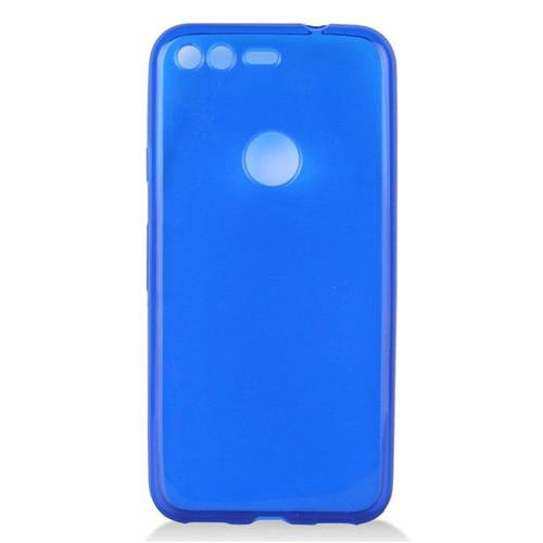 Insten Frosted Rubber Case For Google Pixel, Blue