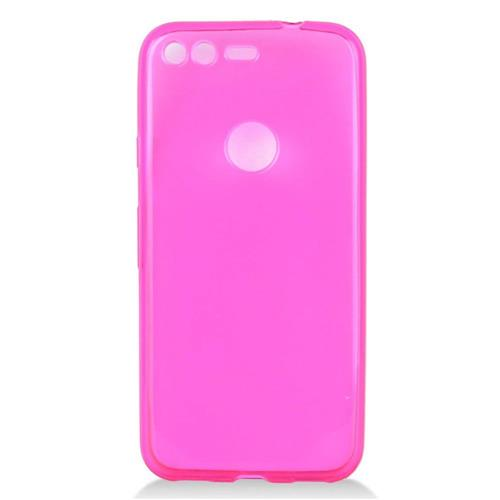 Insten Fitted Soft Shell Case - Hot Pink