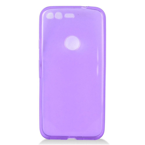 Insten Frosted Gel Case For Google Pixel, Purple