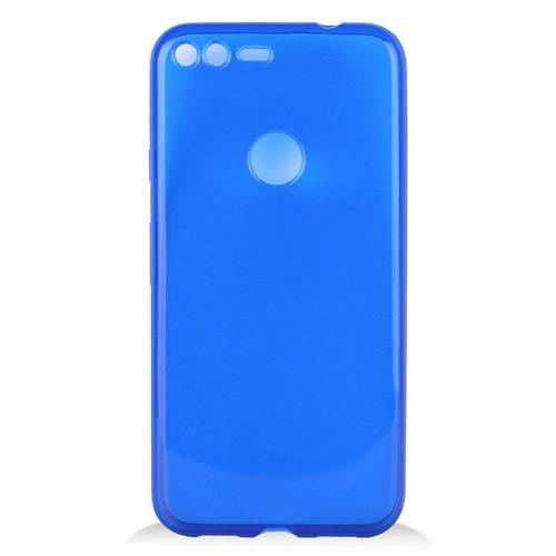 Insten Frosted Rubber Case For Google Pixel XL, Blue