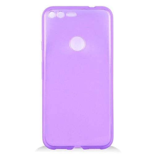 Insten Frosted Rubber Cover Case For Google Pixel XL, Purple