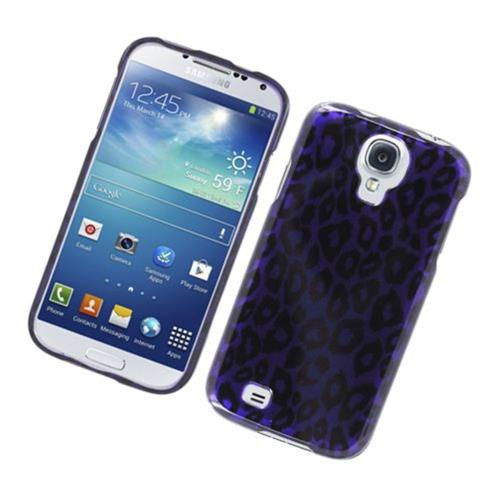 Insten Leopard Hard Cover Case For Samsung Galaxy S4, Purple