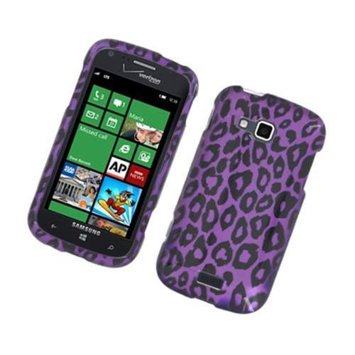 Insten Leopard Hard Case For Samsung ATIV Odyssey, Purple