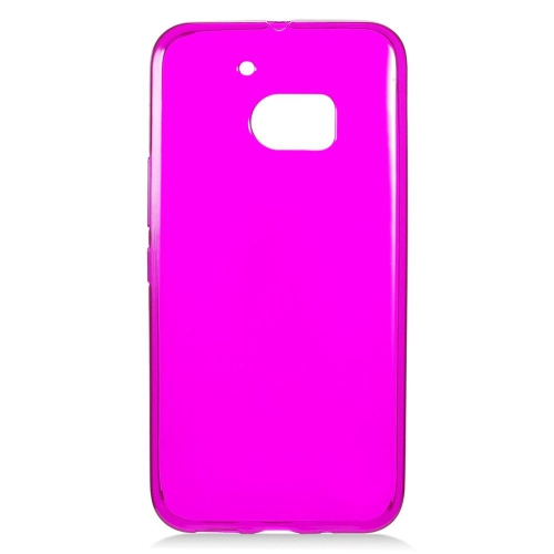 Insten Frosted Rubber Cover Case For HTC One M10, Hot Pink