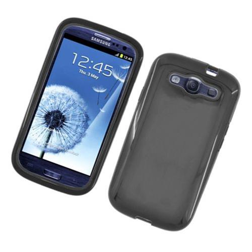 Insten Gel Dual Layer Cover Case For Samsung Galaxy S3, Black