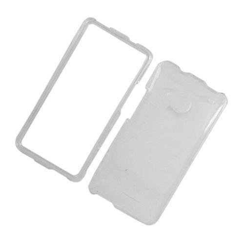 Insten Hard Plastic Case For HTC One M7, Clear