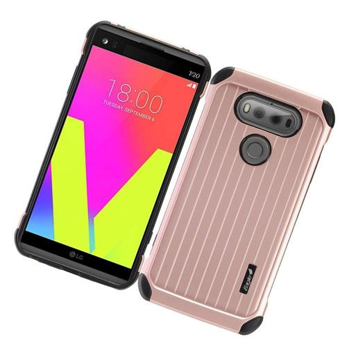 Insten Fitted Soft Shell Case for LG V20 - Black;Rose Gold