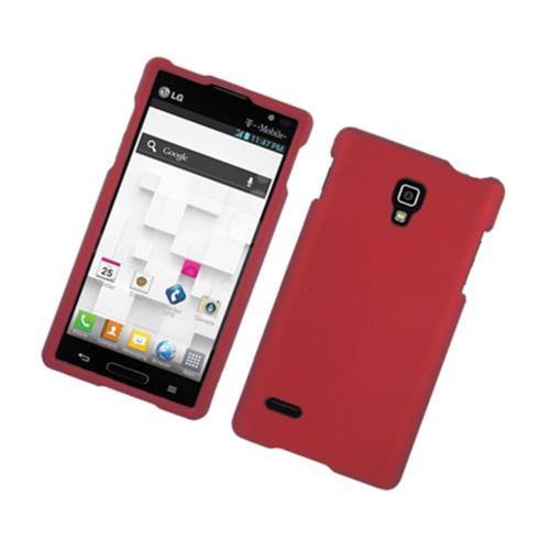 Insten Hard Case For LG Optimus L9 P769, Red