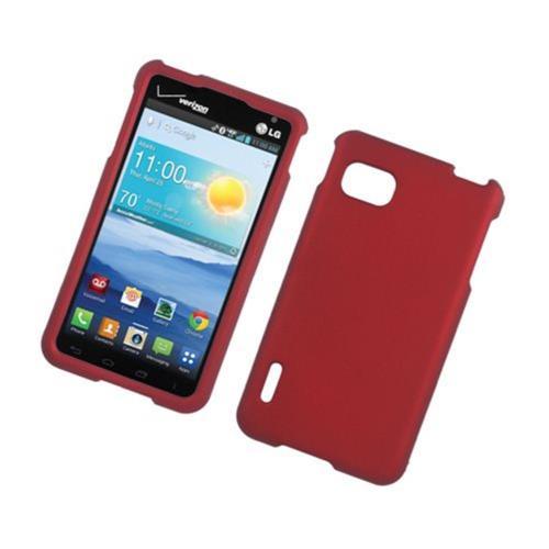 Insten Hard Case For LG Optimus F3 LS720, Red