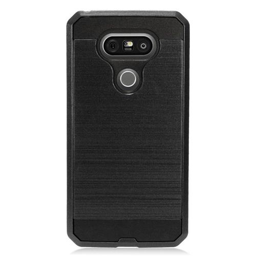 Insten Hard Hybrid TPU Cover Case For LG G5, Black