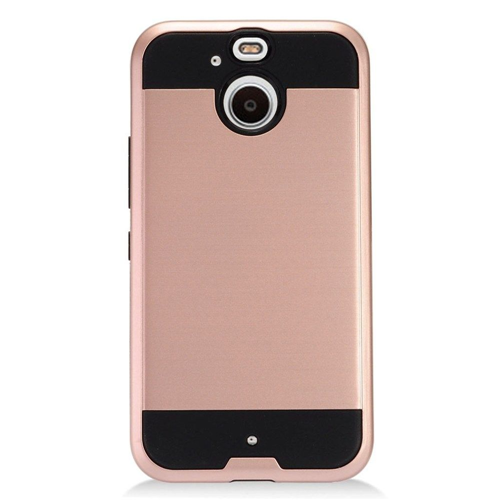 Insten Hard Dual Layer TPU Cover Case For HTC 10 EVO / Bolt, Rose Gold/Black