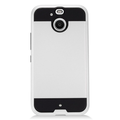 Insten Fitted Soft Shell Case for HTC 10 - Silver;Black
