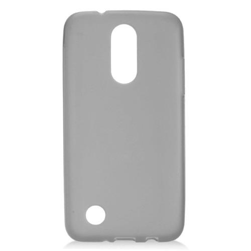 Insten Frosted Rubber Case For LG Aristo, Smoke