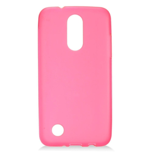 Insten Frosted Gel Cover Case For LG Aristo, Pink