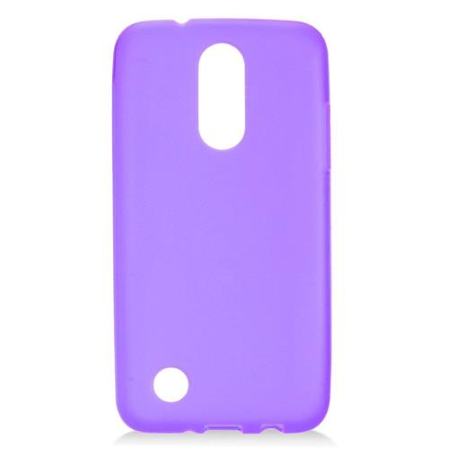 Insten Frosted TPU Case For LG Aristo, Purple