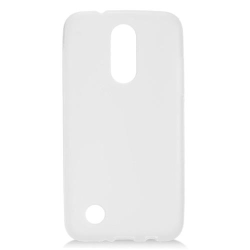 Insten Frosted Gel Cover Case For LG Aristo, White