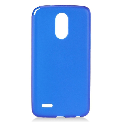 Insten Frosted TPU Cover Case For LG Stylo 3, Blue