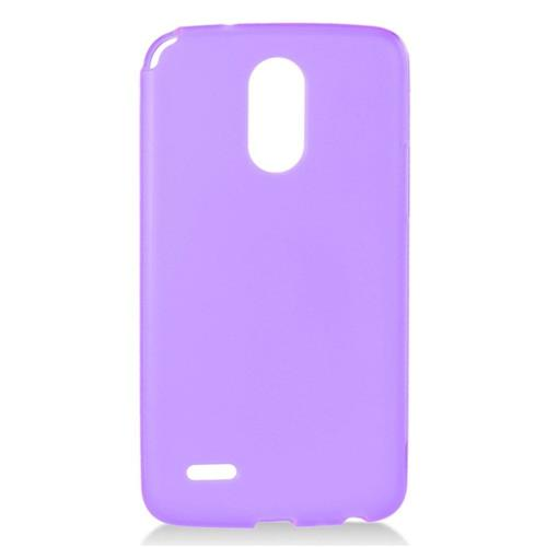 Insten Frosted Rubber Case For LG Stylo 3, Purple