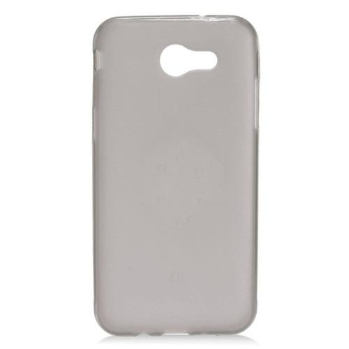 Insten Frosted Rubber Case For Samsung Galaxy J3 (2017), Smoke